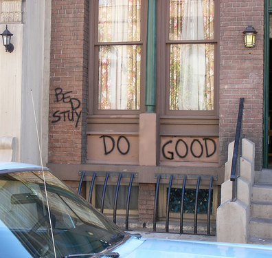 Do good in 2008 Bed-Stuy