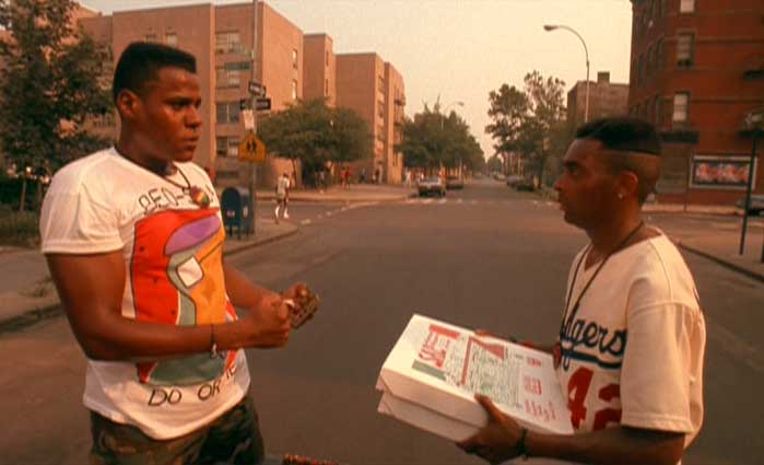 A picturesque scene from Do The Right Thing